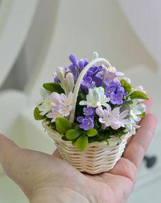 Các hình ảnh Polymer Clay Flowers, Polymer Clay Jewelry, Crepe Paper Flowers, Fabric Flowers, Diy Clay, Clay Crafts, Handmade Flowers, Diy Flowers, Nylon Flowers