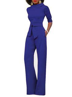 MB Fashion Blue Jumpsuit 3828 coming soon Royal Blue Bridesmaid Dresses, Prom Girl Dresses, Blue Jumpsuits, Jumpsuits For Women, Coats For Women, Clothes For Women, Red Pants, Romper Pants, Wholesale Fashion