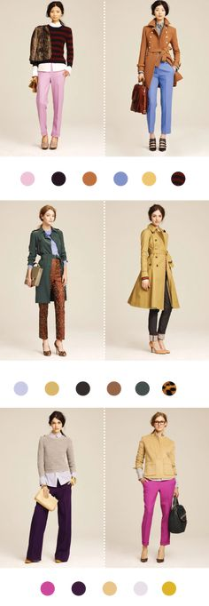 Love love love the purple and camel combo.  J Crew is knocking out of the park (as usual).  Thanks Mint.