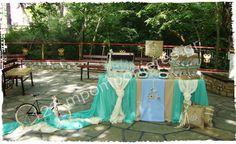Αποτέλεσμα εικόνας για διακοσμηση βαπτισης αγορι βεραμαν-γαλαζιο