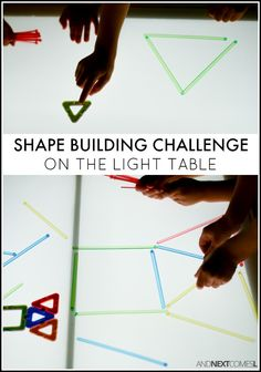 Shape Building Challenge on the Light Table