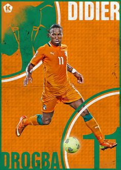Didier Drogba Soccer World, World Football, Football Soccer, Soccer League, Football Players, Lionel Messi Wallpapers, Soccer Poster, Chelsea Fc, Best Player