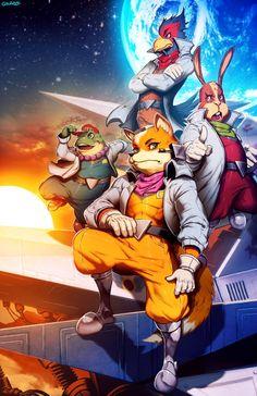 Star Fox byGonzalo Ordóñez Arias