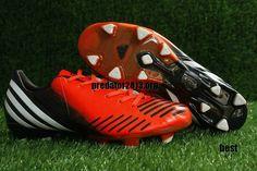 Adidas Predator 2012 LZ Infrared Black Running White Beckham Soccer Shoes   28 ff2f22ef62