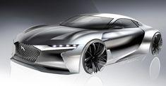 Sketchwork DS  E-Tense #DSMasterpiece #DSAutomobiles #Etense #DSEtense #GT #supercar #electric #cardesign #automotive #design #art #avantgarde #beauty #luxury