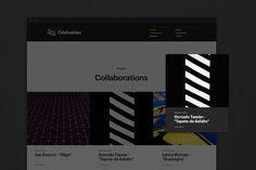 Odabashian Website on Behance
