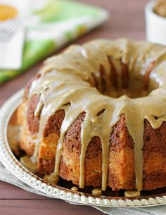 Pumpkin Cream Cheese Bundt Cake from Confessions of a Bright-Eyed Baker