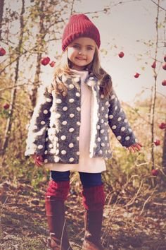 Holiday outfit, Christmas outfit, kids style, kids coat, girls style, children's fashion