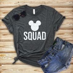 Disney shirts Group T-shirts Cute Disney Outfits, Disneyland Outfits, Disneyland Shirts, Disneyland Trip, Disney World Shirts, Disney Shirts For Family, Bff Shirts, Travel Shirts, Disney Valentines