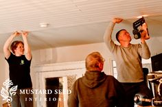 planked ceiling -  things to know going in- Miss Mustard Seed