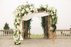 23 Wedding Chuppah Ideas We Love | Photo by: Rebecca Arthurs Photography | TheKnot.com