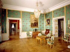 peterhof palace interior/images | The Great Peterhof Palace. The Standard Room. - Peterhof ...