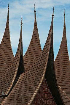 Rooftops in Minang