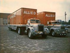 Allied Van Lines Trucks 1968 V and R models