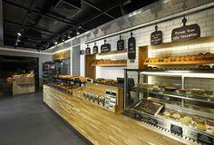 Komşufırın bakery by Autoban store design