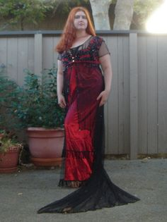 Titanic Jump Dress FULLY beaded FIRST INSTALLMENT by AriaCouture, $875.00....@Shannon Curtis, I know its a little pricy, but I think this would take your wedding to a whole new level.