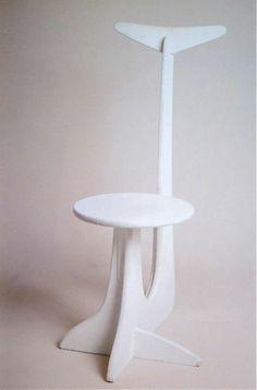 Isamu Noguchi; Lacquered Wood Chair for Martha Graham's 'Herodiade', 1949.