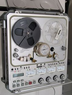 Nagra D-II , 4 tracks, Digital Recorder