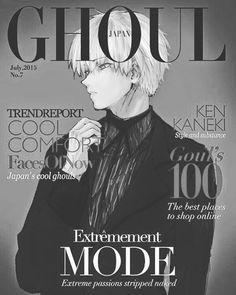 Anime: Tokyo Ghoul Character: Kaneki Ken [Credit to artist] _ Follow @toyoghoul