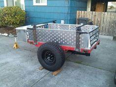 Image result for convert utility trailer to kayak trailer
