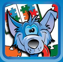 The Blue Jackal interactive children's books and puzzles for iPad