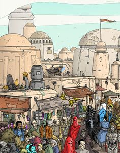 Where's Waldo: Star Wars, Batman, TARDIS, Spock & Lego Man Style