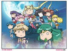 Sailor Moon Crystal Season 3 Death Busters Arc by Chibi-Jennifer.deviantart.com on @DeviantArt