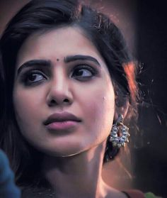 Eyebrow make up Beautiful Girl Indian, Most Beautiful Indian Actress, Beautiful Girl Image, Samantha Images, Samantha Ruth, South Actress, South Indian Actress, Star Pictures, Girl Pictures