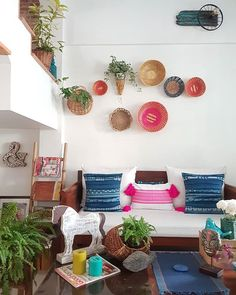 Creating a bohemian style living room means creating an absolutely unique and your personalized atmosphere. It is known that the best feature of this style is… Modern Bohemian Decor, Bohemian Crafts, Bohemian Room, Bohemian Interior, Boho Decor, Vintage Bohemian, Bohemian Style, Decor Interior Design, Interior Decorating