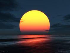 3D Wallpaper | Fondos de Sol en la playa | Fondos de pantalla de Sol en la playa - 3D ...