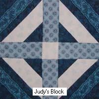 finished Walls of Jericho block
