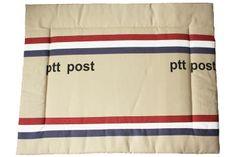 Boxkleed PTT Post meer op http://www.ukje.nl/boxkleden/
