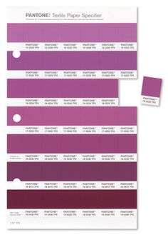 Radiant Orchid - Pantone Color of the Year 2014: - Color trends, color palettes , Pantone 18-3224 TCX.