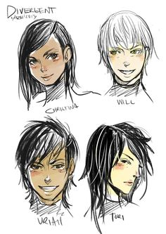 I love the variations of Uriah that people draw. Most are similar to what I imagined. ~Divergent~ ~Insurgent~ ~Allegiant~