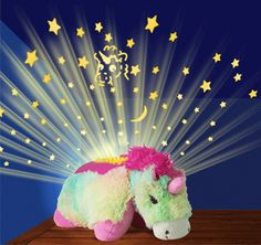 Dream Lites Rainbow Unicorn From Pillow Pets® | #Dream Lites. Order online now!