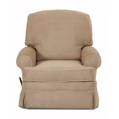 The resonant good looks and multiple personalities of the Cortlandt Swivel Gliding Recliner will enliven a neutral space. The tailored skirt, classic round arms and two seat cushions add the perfect finishing touch. Swivel Recliner Chairs, Recliner With Ottoman, Glider Recliner, Glider And Ottoman, Nursing Chair Uk, Best Chair For Posture, Cow Print Chair, Pink Accent Chair, Gliding Chair