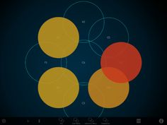 Freehand Playable Circles, in Any Tuning, on iPad: New Orphion Editor - CDM Create Digital Music Touch Tablet, Ipod Touch, Apps For Teens, Multi Touch, Music Therapy, New Ipad, Music Education, Good Music, Amazing Music