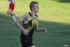 Andover cross country runner Josh Ripley, who carried a competitor for 1/2 mile at an event