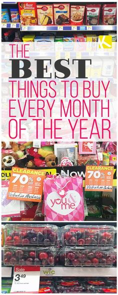 The Best Time to Buy Everything by Month of the Year - The Krazy Coupon Lady