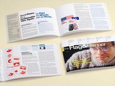 Print Design:The Flag Shop Print Materials - Flink Creative