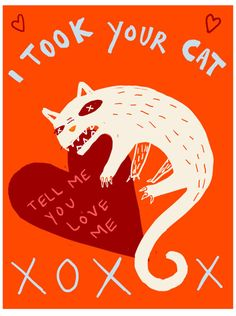 valentines day cat poems