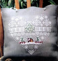 white on linen: french needlework is so beautiful