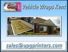 For more detail once visit at: http://www.upgprinters.com/vehicle-wraps-kent.html