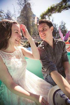 A Disney Style Editor's Romantic Disneyland Engagement