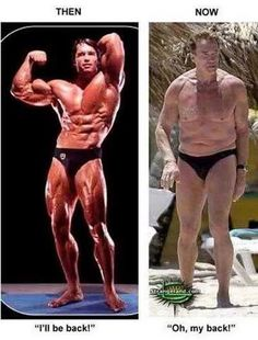 The Terminator then and now