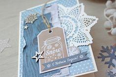 Картинки по запросу скрапбукинг зимние открытки