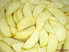 Äpfel für Apfelkuchen vorbereiten Apple Recipes, Snack Recipes, Snacks, Chips, Food And Drink, Butter, Vegetables, Cake, Desserts