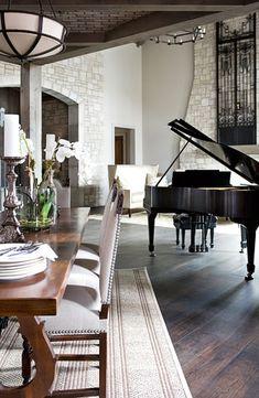 interior design client at Lake Keowee, SC : Linda McDougald Design | Postcard from Paris Home