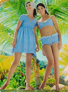 I had a bathing suit like this when i was about 9.