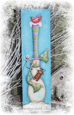 Winter Whimsey by Deb Antonick email by PaintingWithFriends